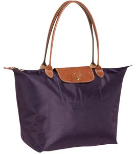 Longchamp Tote in Bilberry