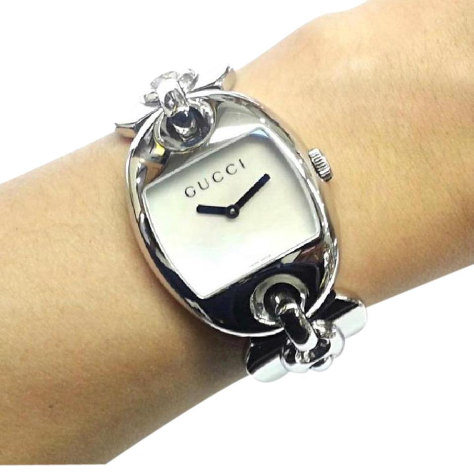 8185be60d7e Gucci Gucci Woman s Belt Buckle Watch Marina Chain Collection Image 0 ...