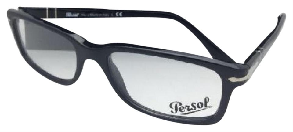fd535a614d Persol New Rx-able 3130-v 95 54-18 145 Shiny Black Frame Sunglasses ...