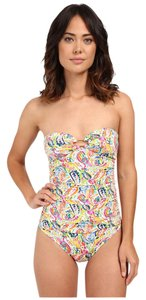 Ralph Lauren LAUREN Ralph Colorful Paisley Ring Strapless One-Piece Slimming 4