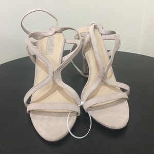 Forever 21 Beautiful Tan High Heels Wedding Shoes