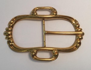 Hermès Hermes Gold Plate Belt Buckle