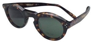 Céline New CELINE Sunglasses CL 41370/S E88 85 45-25 145 Tortoise w/ Green