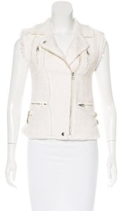 Rebecca Taylor #leather #moto Vest