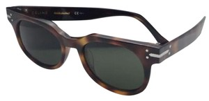 Céline New CELINE Sunglasses CL 41080/S 05L1E 50-19 150 Tortoise w/ Green