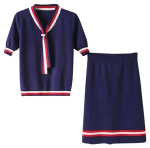 Other short dress Blue, Red on Tradesy