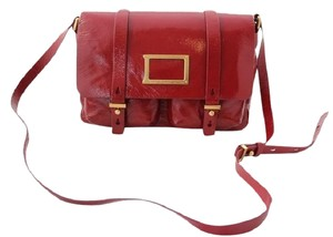 Marc Jacobs Leather Messenger Cross Body Bag