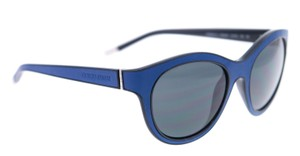 Giorgio Armani NEW Giorgio Armani AR8032Q Royal Blue Leather Cat Eye Sunglasses
