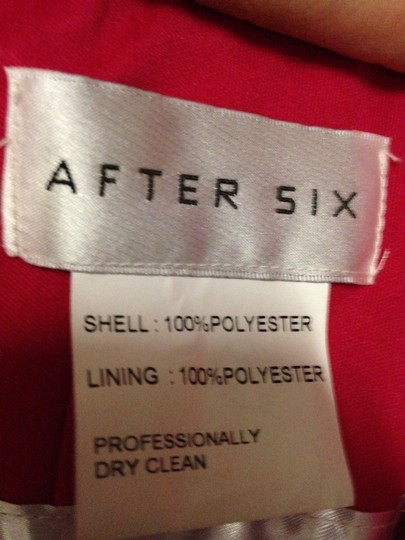 After Six Valentine Bridesmaid/Mob Dress Size 10 (M)