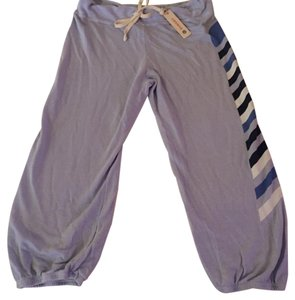 Sundry Capri/Cropped Pants blue