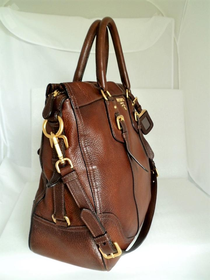 e9a370b9f8 Prada Cervo Antik Tote Cacao with Gradient Accent Bn1191 Deerskin Leather Shoulder  Bag - Tradesy
