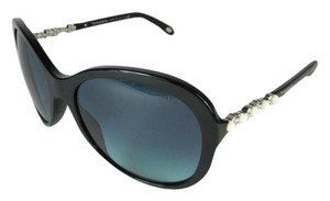 Tiffany & Co. Glam - Black with Austrian Crystals & Pearls Sunglasses