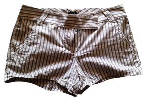 J.Crew Mini/Short Shorts Navy stripped