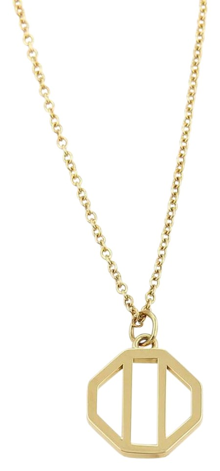 pendant gold octagon yellow house diamond necklace open phillips borsheims