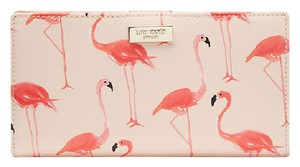 Kate Spade Kate Spade Shore Street Stacy Flamingo Print Wallet