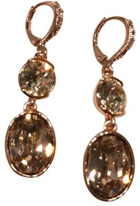 Givenchy rose gold-tone drop earring
