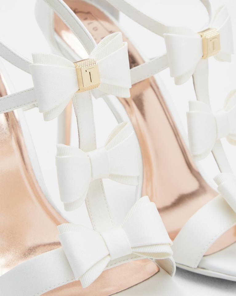 a45e8016c858be Ted Baker White Appolni Triple Bow Detail Sandals (13) Pumps Size US 9  Regular ...