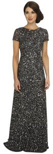 Adrianna Papell Sequin Mother Of The Bride Beaded Embellished Dress