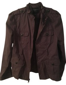 Sanctuary Clothing Sanctuary Twill Spring Sactuary Brown Jacket