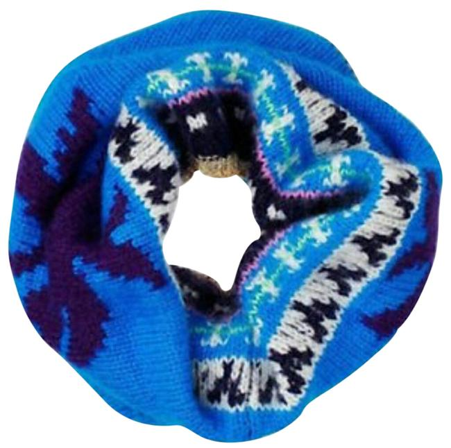 Item - Blue/Purple/Multi Ski Snood Scarf/Wrap