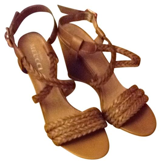 Sesto Meucci Leather 2nd's brown Sandals
