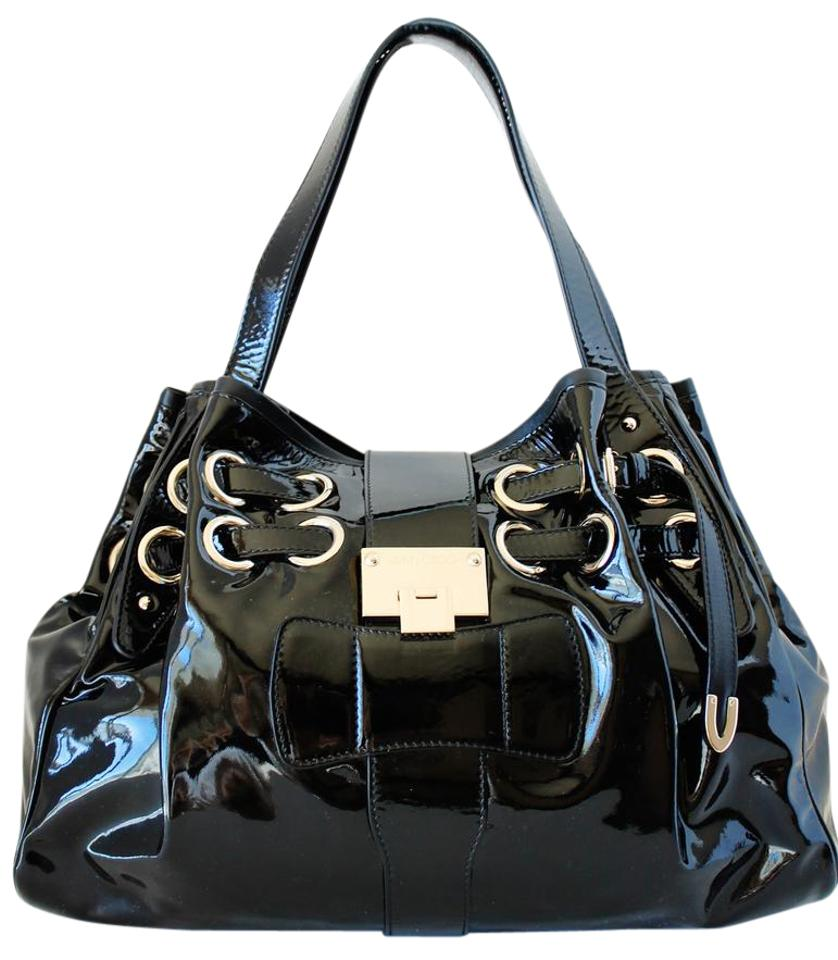 Black Patent Leather Handbag  Black Patent Leather Handbag 1f78076409026