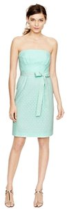 J.Crew Wedding Eyelet Bridesmaid Strapless Dress