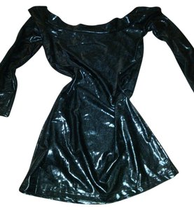 Pleaser Gothic Vinyl Lycra Club Wear Vampire Dress