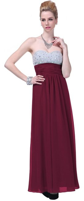 Preload https://item1.tradesy.com/images/burgundy-red-crystal-bodice-tie-open-back-long-formal-dress-size-16-xl-plus-0x-2140865-0-0.jpg?width=400&height=650