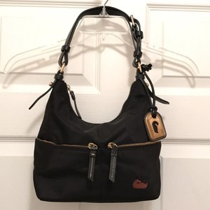 Dooney & Bourke Handbag Hobo Designer Leather Shoulder Bag