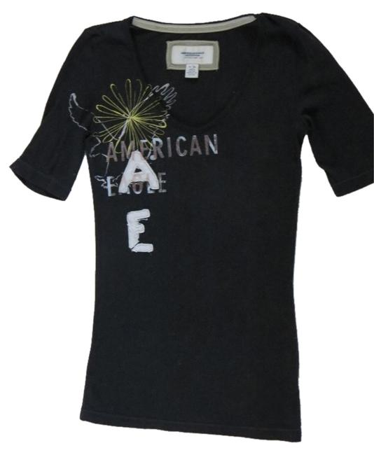 American Eagle Outfitters T Shirt dark blue