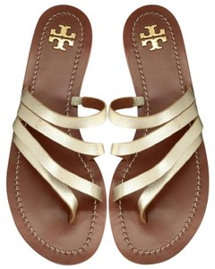 Tory Burch spark gold Sandals