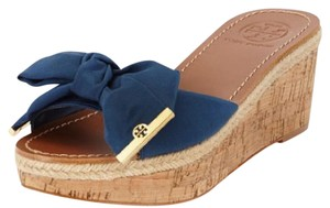 Tory Burch Sandals Sandals Bright Navy Wedges
