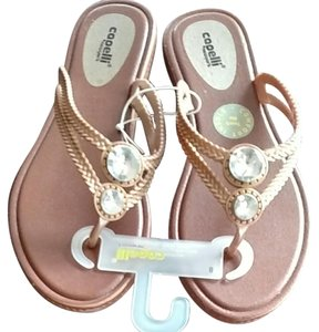 Capelli New York Gold Sandals