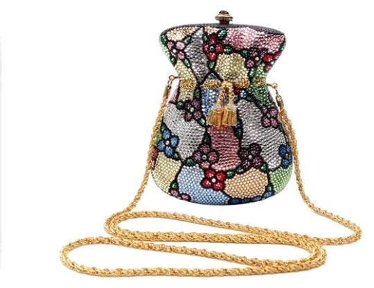 Preload https://item5.tradesy.com/images/new-limited-edition-couture-money-bag-stained-glass-multicolor-crystalleather-clutch-2140944-0-0.jpg?width=440&height=440