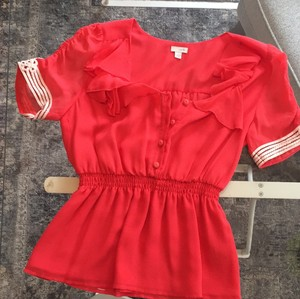 Odille Top electric red