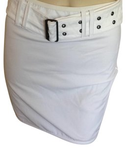 Burberry Mini Skirt white