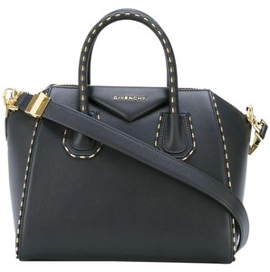 Givenchy Antigona Gold Tote in Black