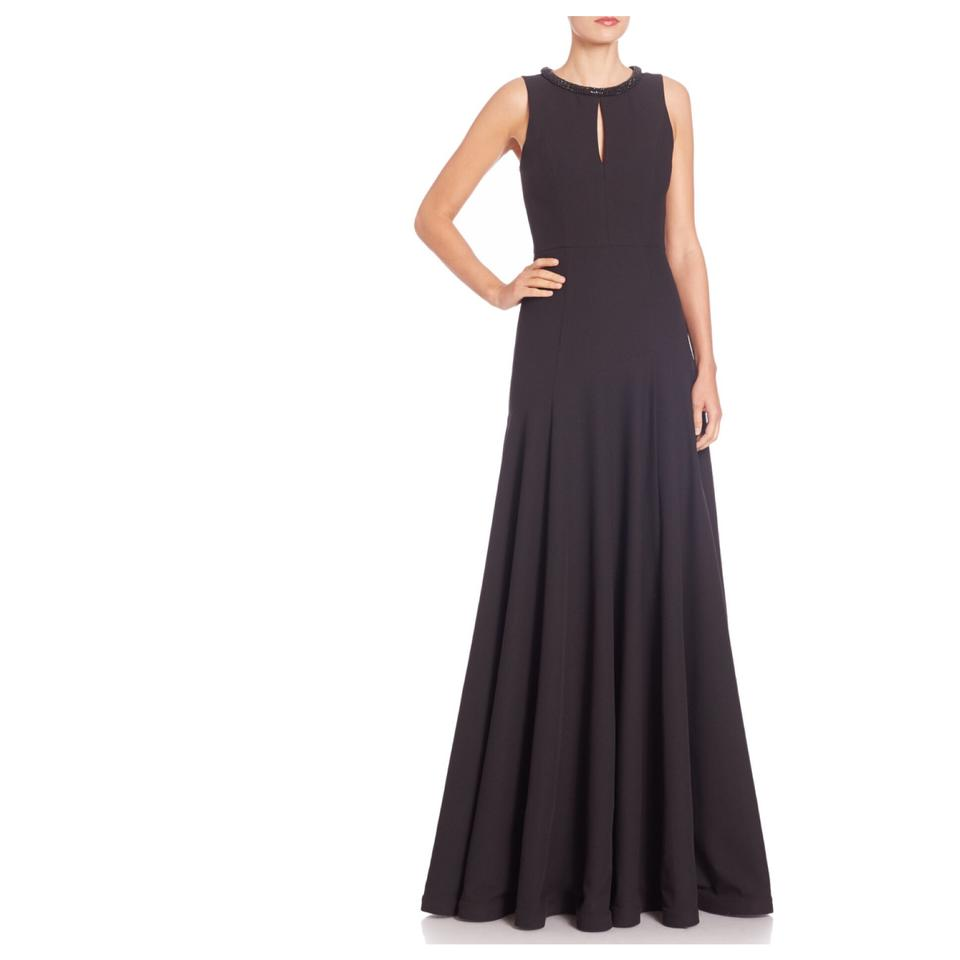 Black Halo Blakely Long Formal Dress Size 8 (M) - Tradesy