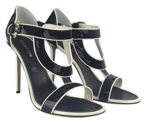 Sergio Rossi Black/Cream Formal