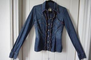 Dolce&Gabbana Longsleeve Button Down Shirt Blue Jeans