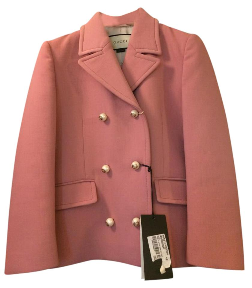 f8b85f288a2f3 Gucci Pink Double Breasted Jacket Shorts Suit Size 4 (S) - Tradesy