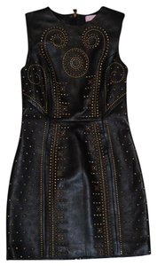Versace for H&M Studded Leather Dress