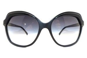 Chanel Chanel 5228 555/3C Butterfly Matte & Glossy Black / Grey Gradient Lens