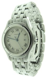 Cartier Cartier Cougar Panthere Stainless Steel Date 33mm Watch