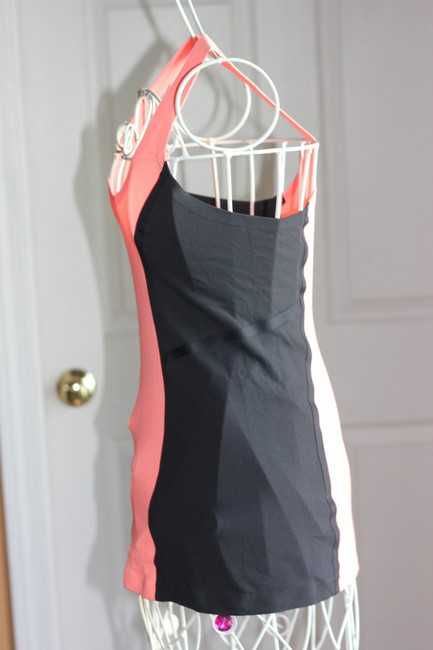 Lululemon Lululemon Tank Top Orange and Black In Excellent Condition!