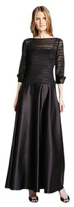 JS Collections Gown Illusion 3/4 Sleeve Plus-size Formal Dress