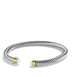 David Yurman 5mm cable classics pearl