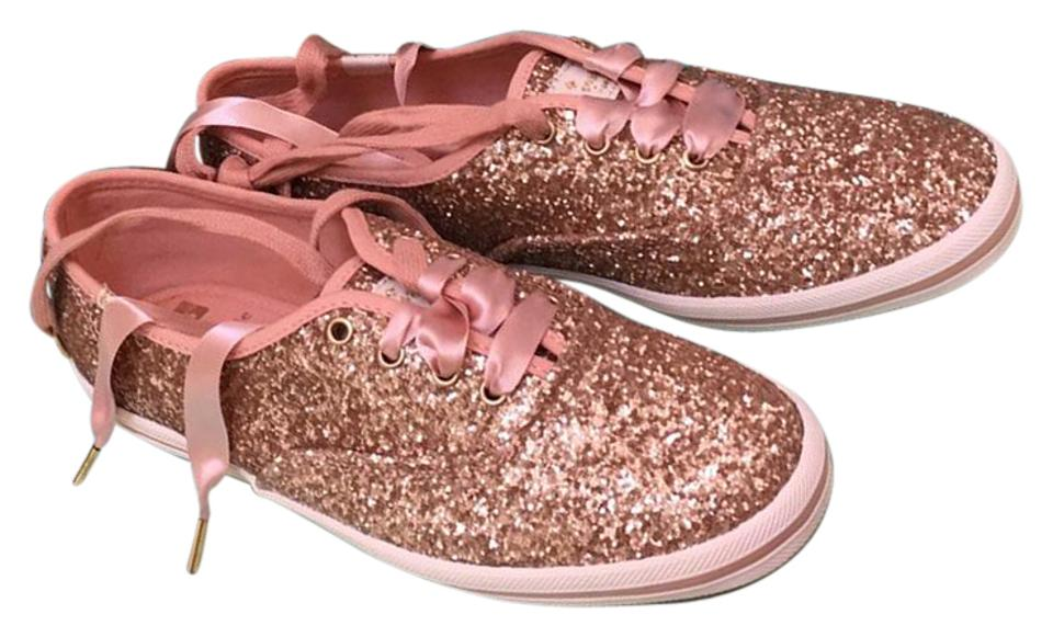 bf6597165ee Keds Rose Gold Kate Spade Glitter Sneaker Sneakers Size US 7 Regular ...