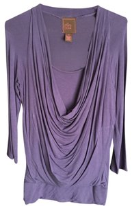 Design History Top Purple